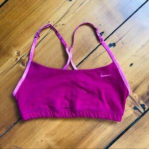 NIKE | Just Do It Padded Pink Sports Bra
